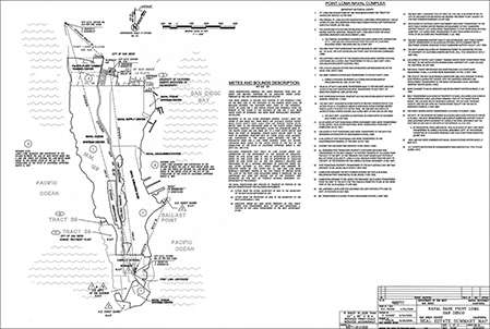 Southwest Div Naval Facilities Map